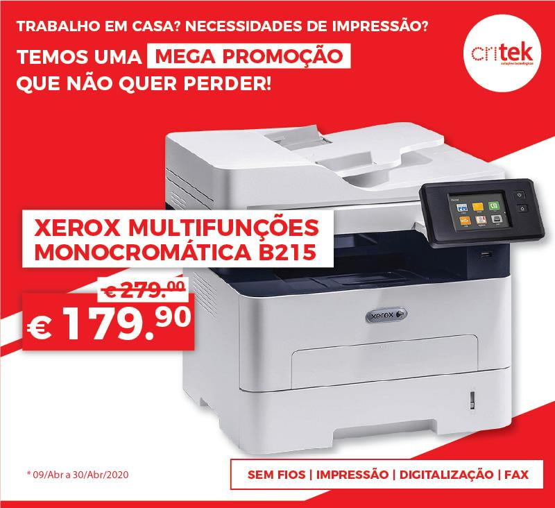 impressora xerox