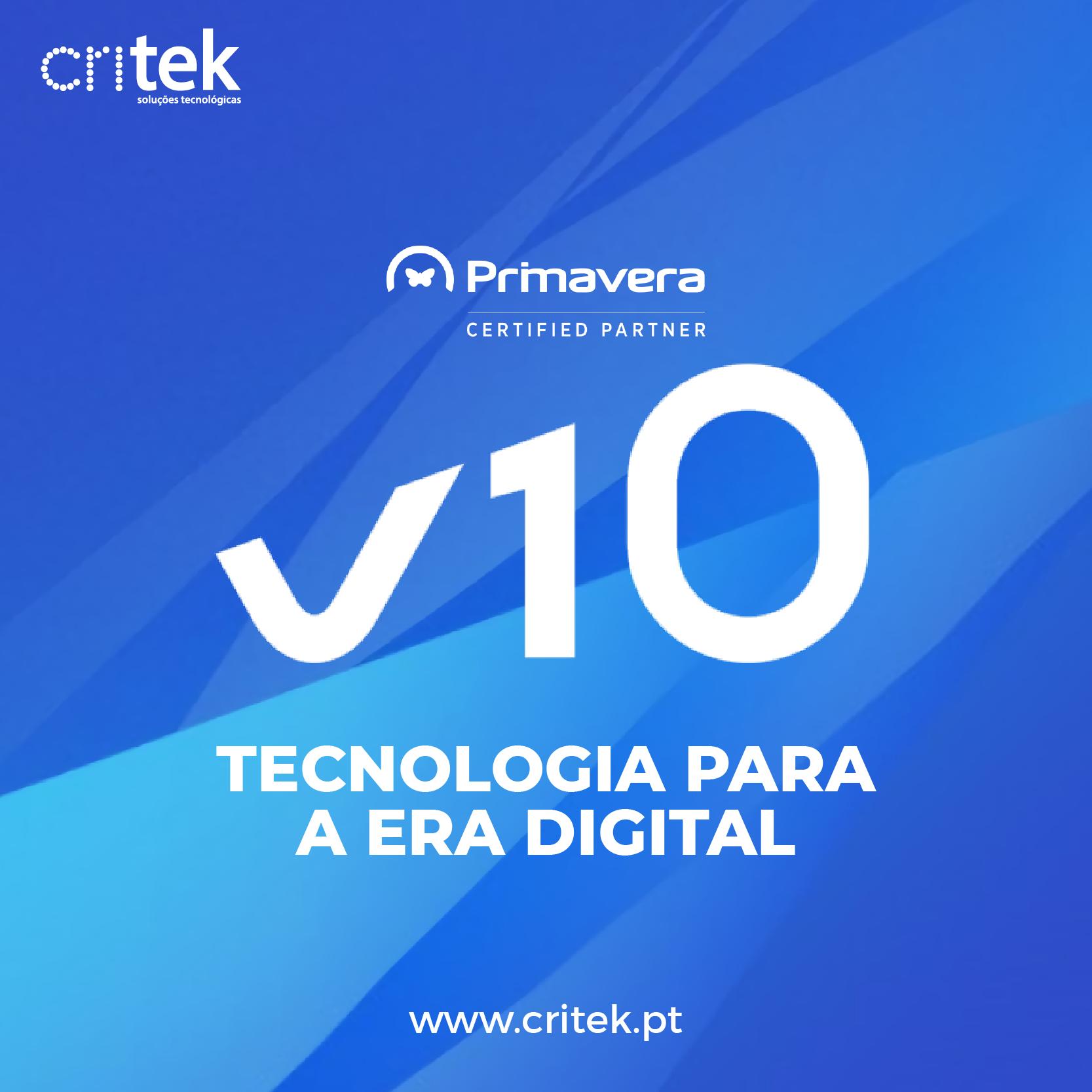 V10 - Um enorme salto tecnológico rumo à era digital